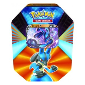 Pokémon Trading Card Game: Lucario V Forces Tin