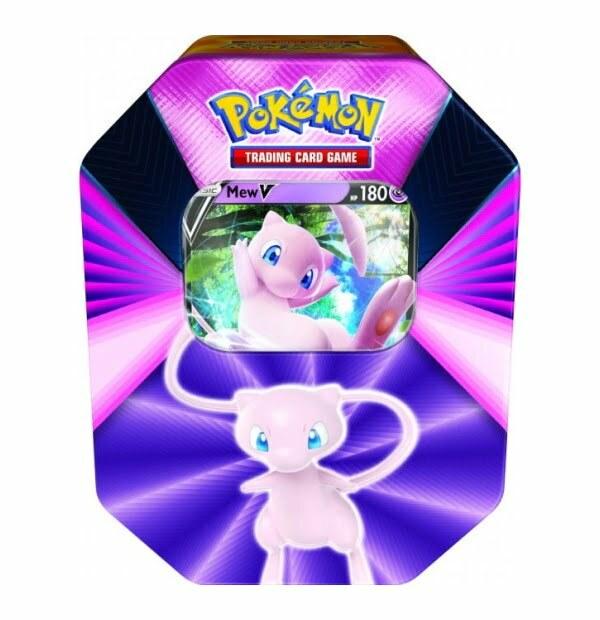 Pokémon Trading Card Game: Mew V Forces Tin