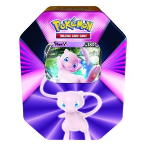 Pokémon Trading Card Game: Mew V Forces Tin