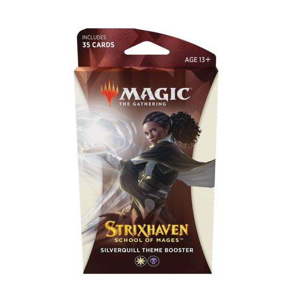 Magic the Gathering: Strixhaven: School of Mages Silverquill Theme Booster