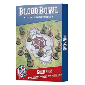 Sevens Pitch: Double-sided Pitch and Dugouts for Blood Bowl Sevens