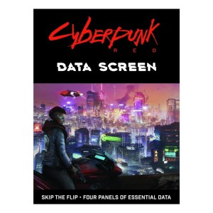 Cyberpunk RED RPG Data Screen
