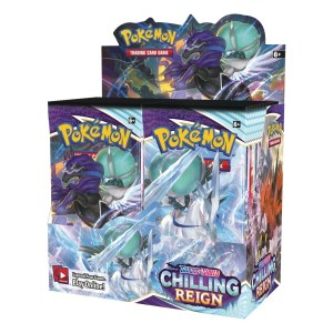 Pokémon Trading Card Game: Sword and Shield - Chilling Reign Booster Box