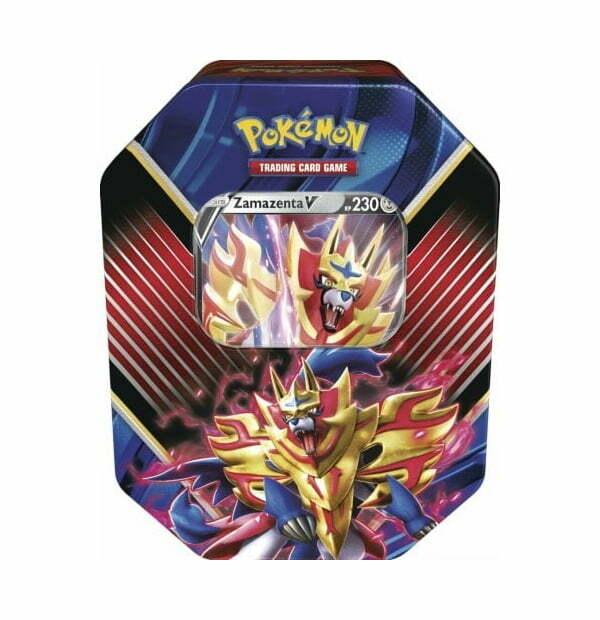 Pokémon Trading Card Game: Legend of Galar Zamazenta V Tin