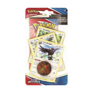 Pokémon Trading Card Game: Sword and Shield - Battle Styles Premium Checklane Blister Corviknight