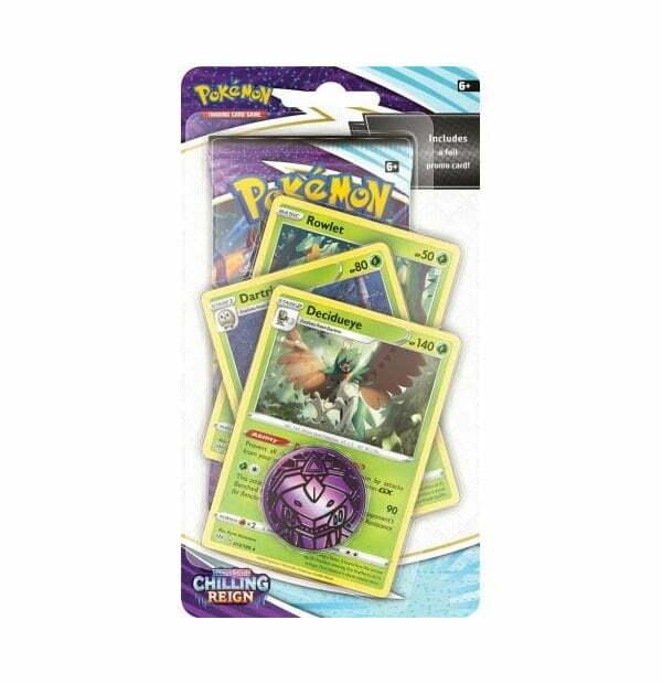 Pokémon Trading Card Game: Sword and Shield - Chilling Reign Premium Checklane Blister Decidueye