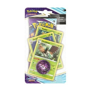 Pokémon Trading Card Game: Sword and Shield - Chilling Reign Premium Checklane Blister Decidueye