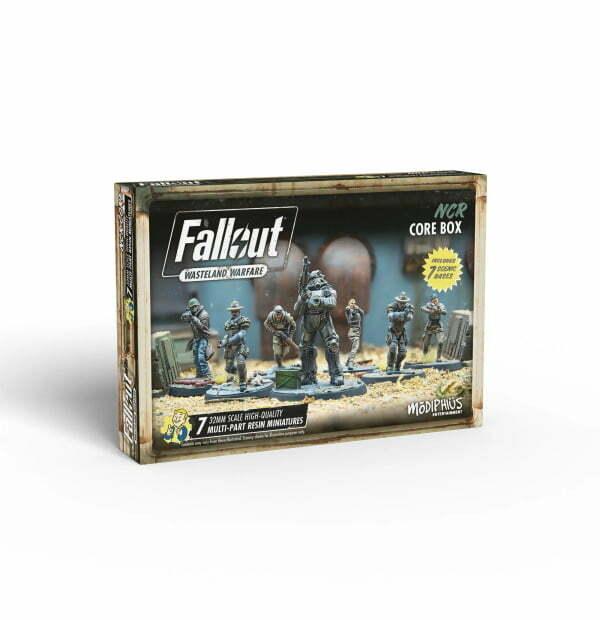 Fallout: Wasteland Warfare - NCR Core Box