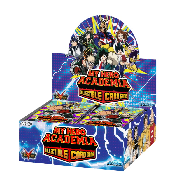 My Hero Academia Collectible Card Game: Wave 1 Booster Box