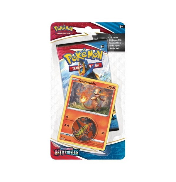 Pokémon Trading Card Game: Sword and Shield – Battle Styles Checklane Blister Charmander
