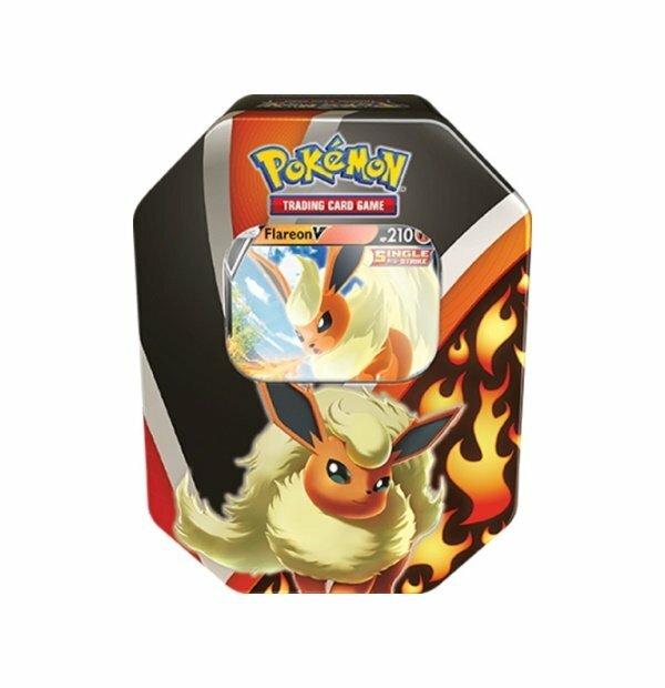 Pokemon Trading Card Game: Eevee Evolutions Flareon V Tin