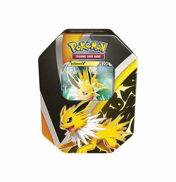 Pokemon Trading Card Game: Eevee Evolutions Jolteon V Tin