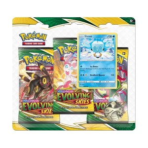 Pokémon Trading Card Game: Sword and Shield - Evolving Skies 3 Pack Blister Eiscue