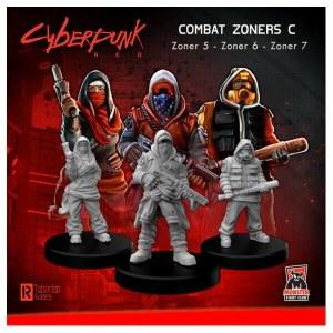 Cyberpunk Red Miniatures - Combat Zoners C