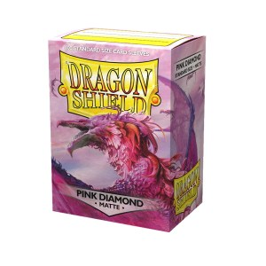 Dragon Shield Matte Sleeves Pink Diamond 100