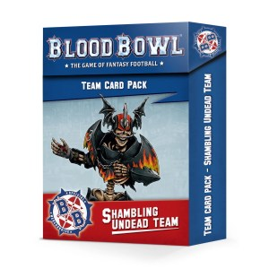 Shambling Undead Team Card Pack