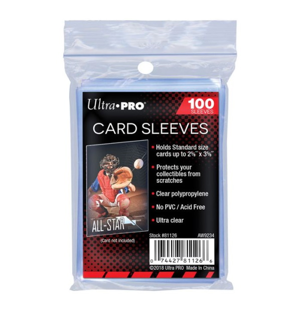Ultra PRO Ultra Pro Soft Sleeves (100) Penny Sleeves