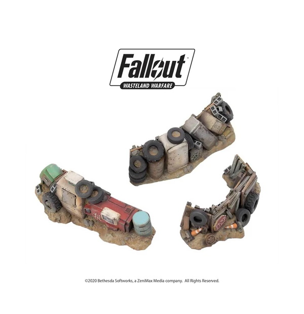 Fallout: Wasteland Warfare - Terrain Expansion: Junk Barricades