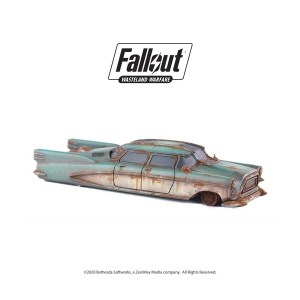 Fallout: Wasteland Warfare - Terrain Expansion: Corvega Sedan