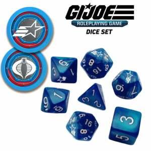 G.I. JOE Roleplaying Game Dice Set