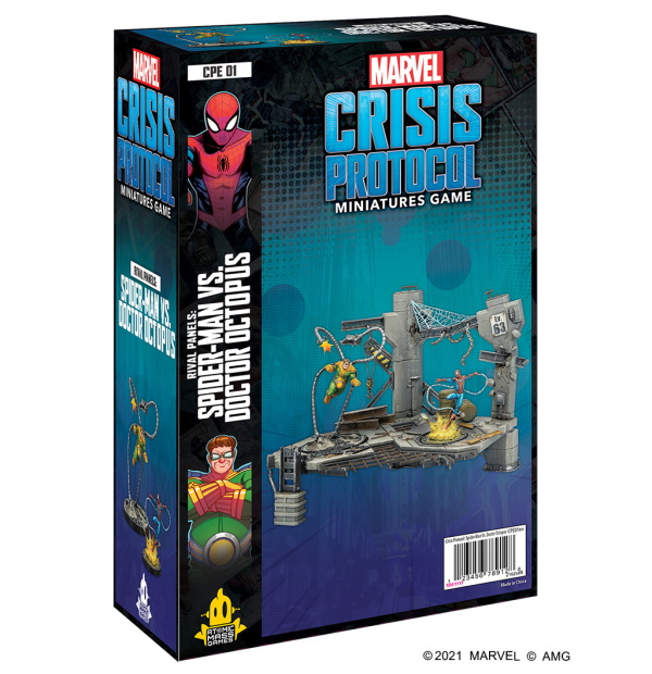 Marvel Crisis Protocol: Spider-man vs. Doctor Octopus