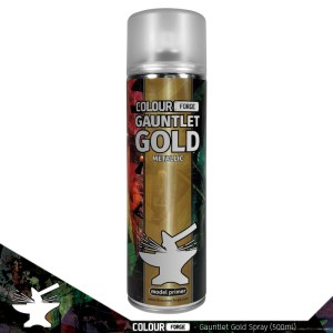 Colour Forge Gauntlet Gold Spray (500ml)