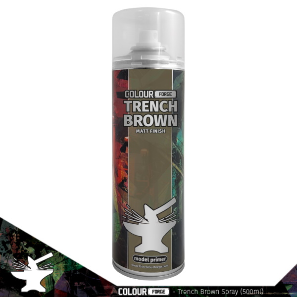 Colour Forge Trench Brown Spray (500ml)
