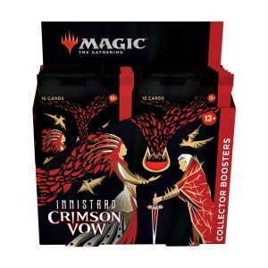 Magic the Gathering Innistrad: Crimson Vow Collector Booster Box