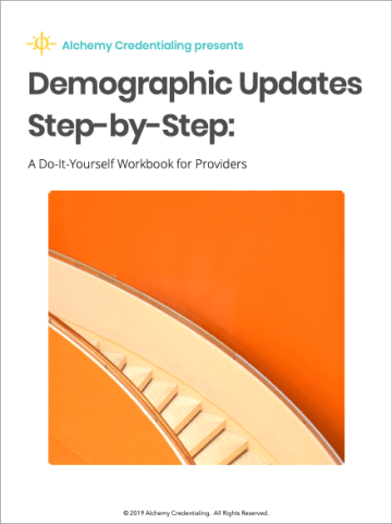 Demographic Updates Step-by-Step: A Do-It-Yourself Workbook for Providers