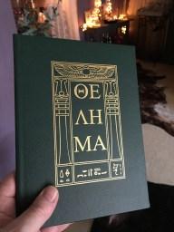 Holy books of Thelema Emerald set.