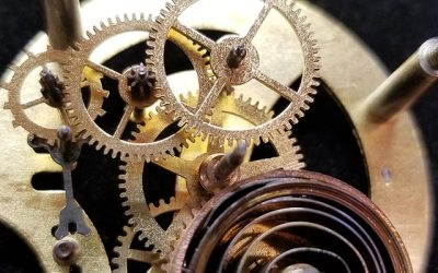 Antique Dashboard Clock Rebuild