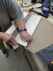 Serving Tray - sanding