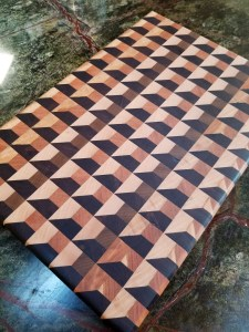 3D Pattern Cutting Board