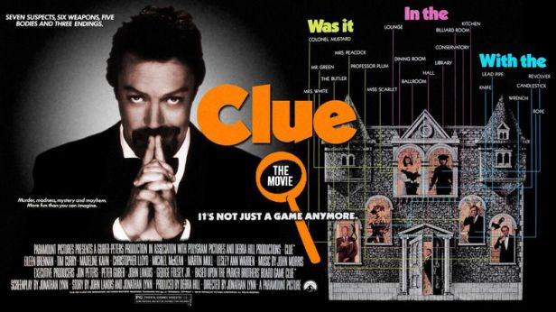 Image result for clue movie poster