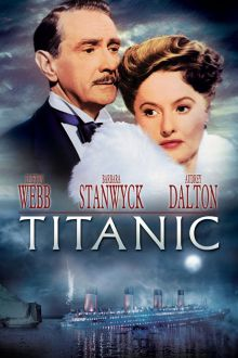 Image result for TITANIC 1953 MOVIE POSTER