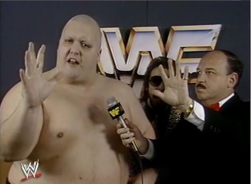 King Kong Bundy Hair