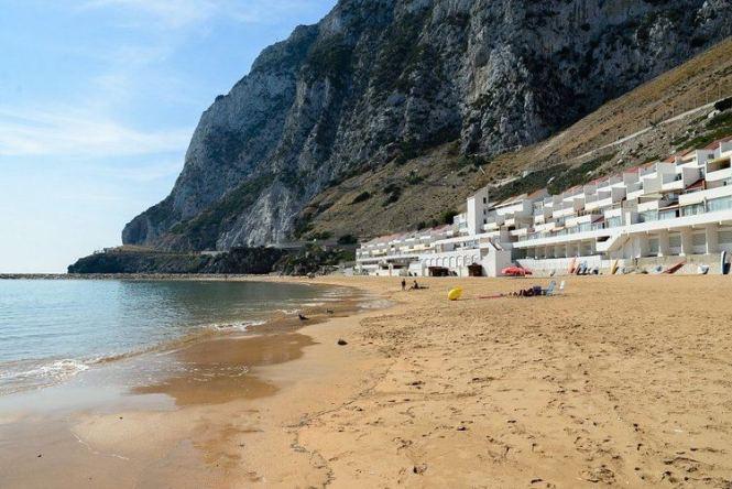 Sandy Bay Gibraltar The World Through My Eyes