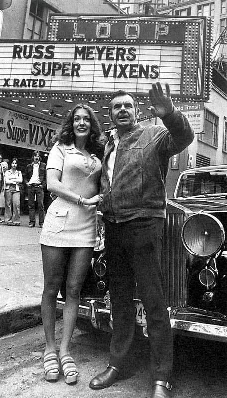 Shari Eubank Shari Eubank And Russ Meyer 1975 Cine Por Fuera Pinterest