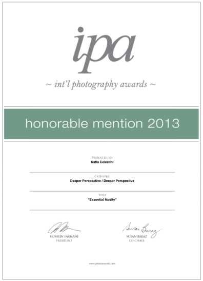 IPA Certificate_Honorable Mention 2013