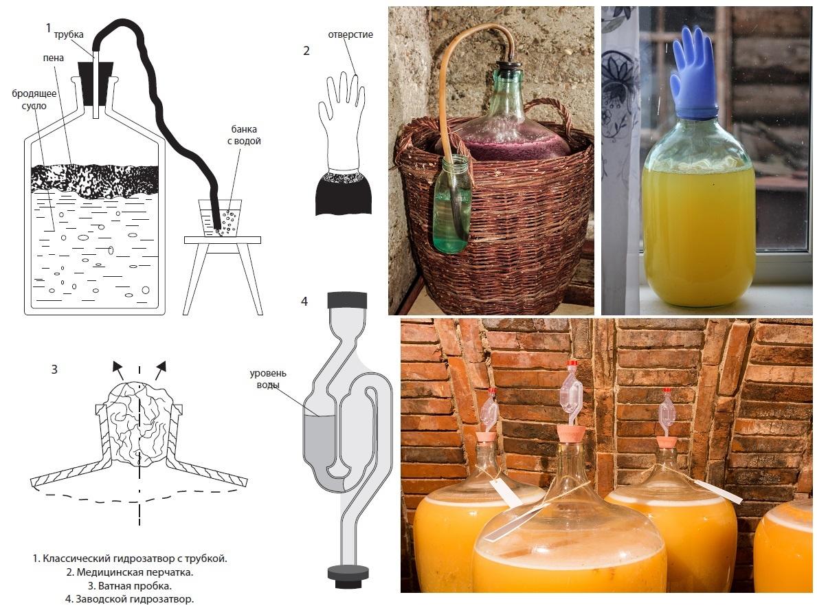 Typer af hydrauliske aktiver til vin, Braga og øl