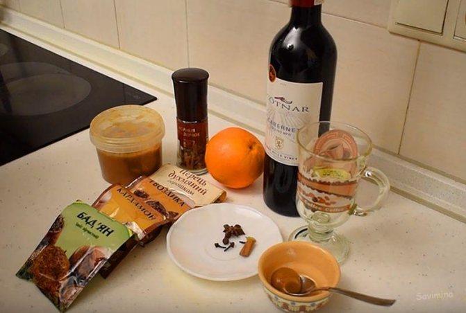 Svařené víno z červeného vína: klasický recept