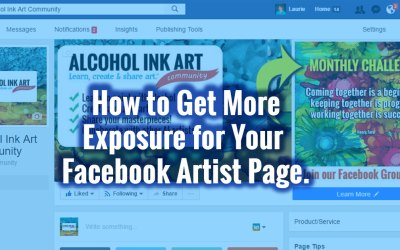 Facebook for Artists:  Like, Share and Comment as Your Facebook Page