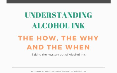 Understanding Alcohol Ink – Lesson #1 Understanding Alcohol