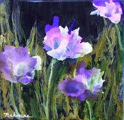 Irises by Barbara Nahmias