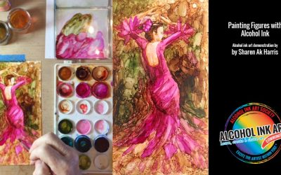 Figure Painting with Alcohol Ink