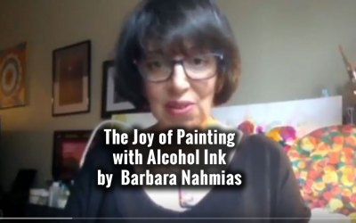 Teaching Alcohol Ink Painting as a Healing Path