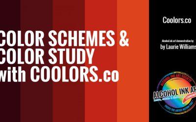 Coolors.co for Art Color Studies