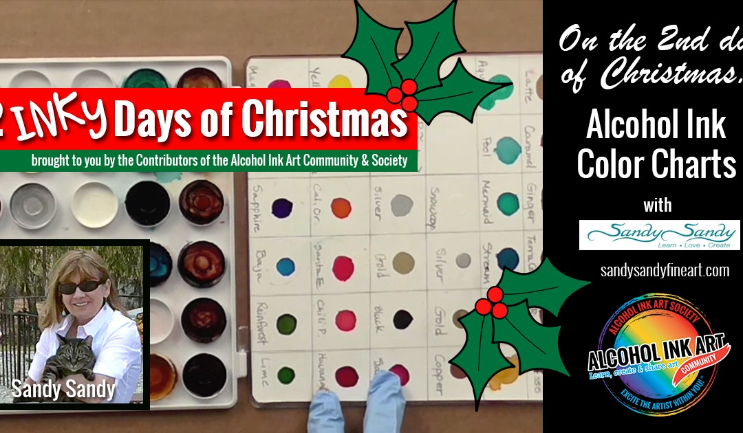 Alcohol Ink Color Charts