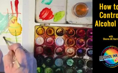 How to Control Alcohol Ink