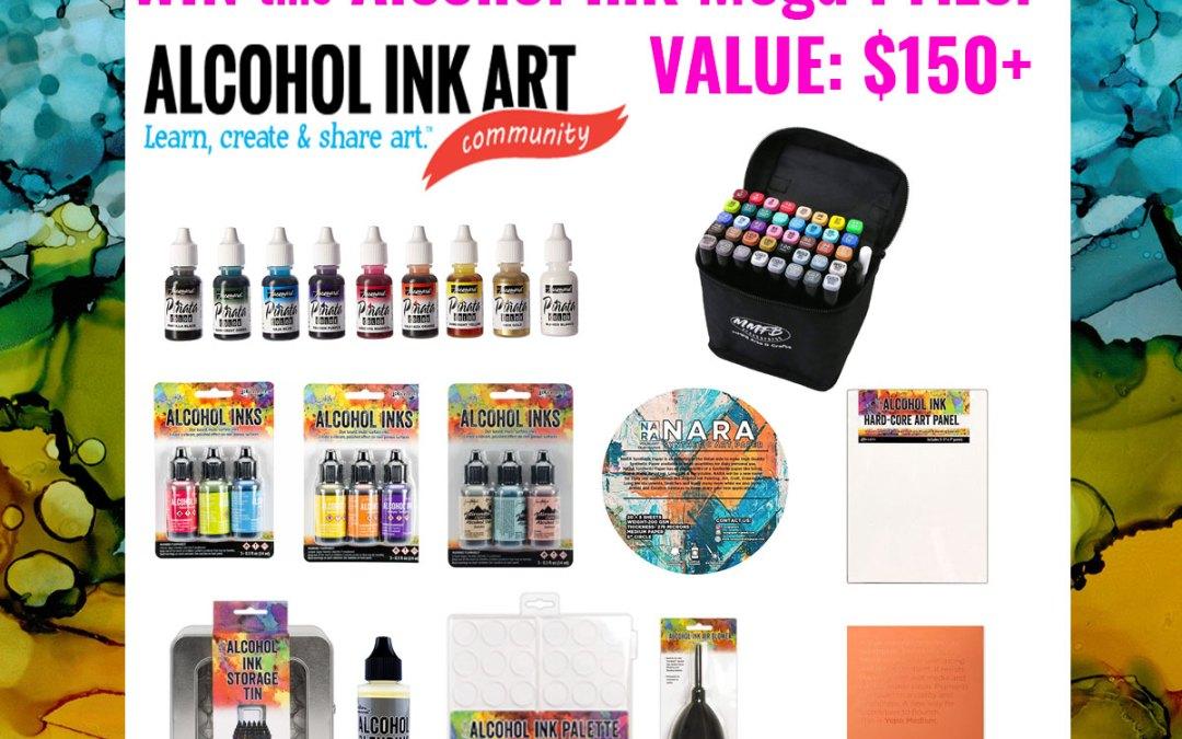 Alcohol Ink Mega Giveaway 2020